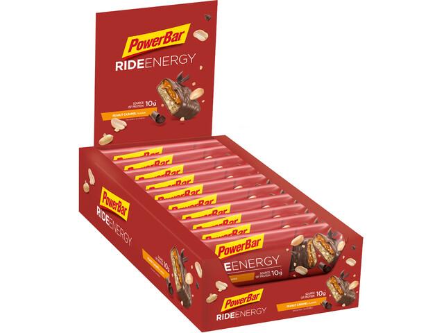 PowerBar RideEnergy Bar Box 18x55g Peanut-Caramel
